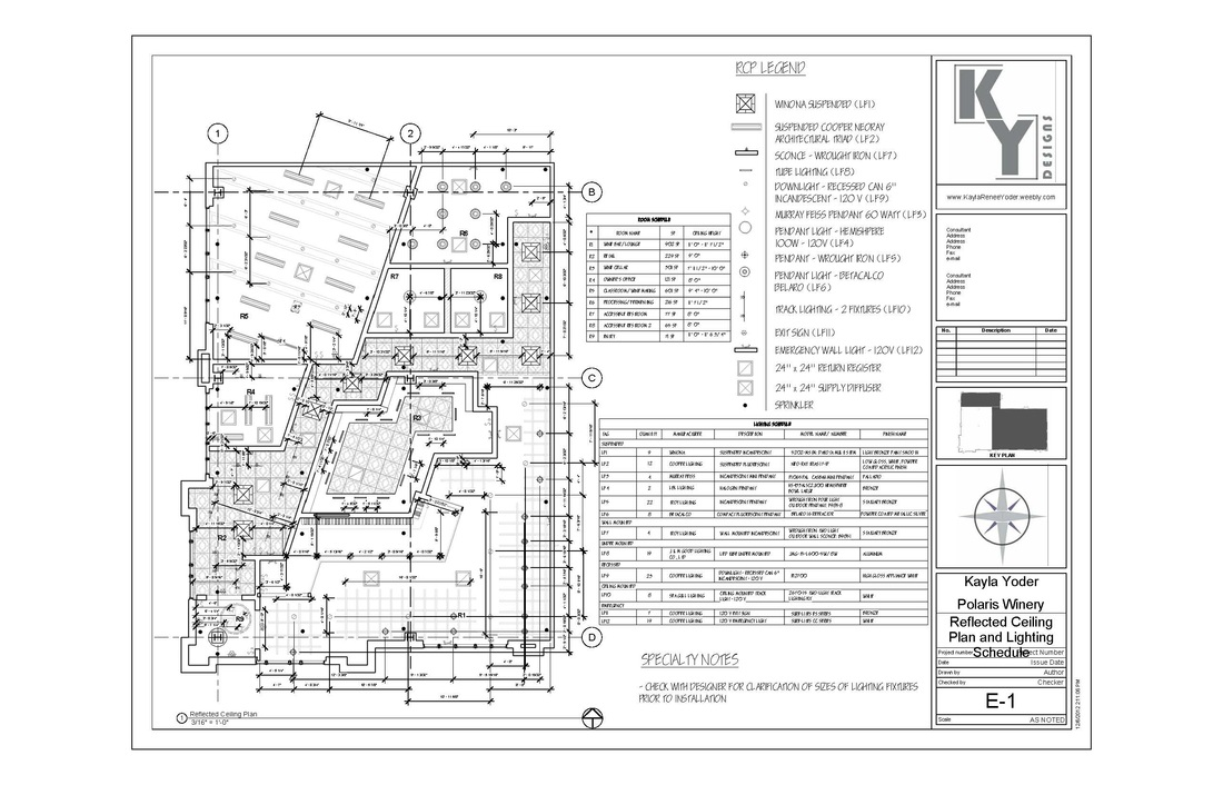 Construction Documents Kayla Renee Yoder Design